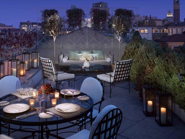 Four Seasons Hotel Milan Penthouse Suite