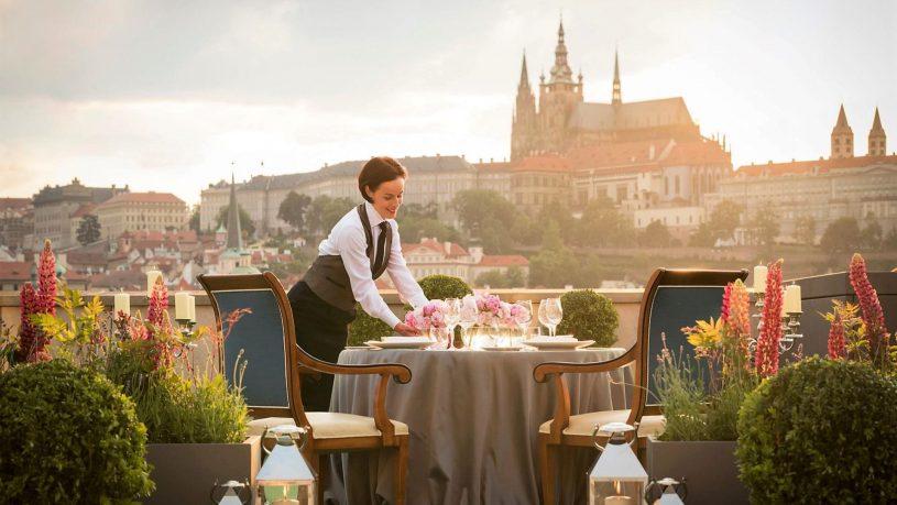 Four Seasons Hotel Prague Terrace