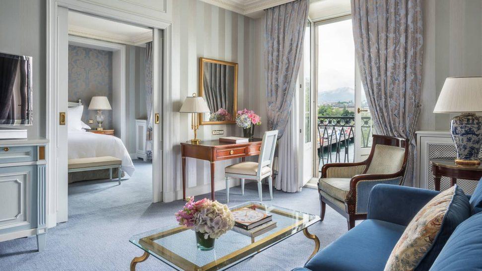 Four Seasons Hotel des Bergues Geneva Four Seasons Executive Suite