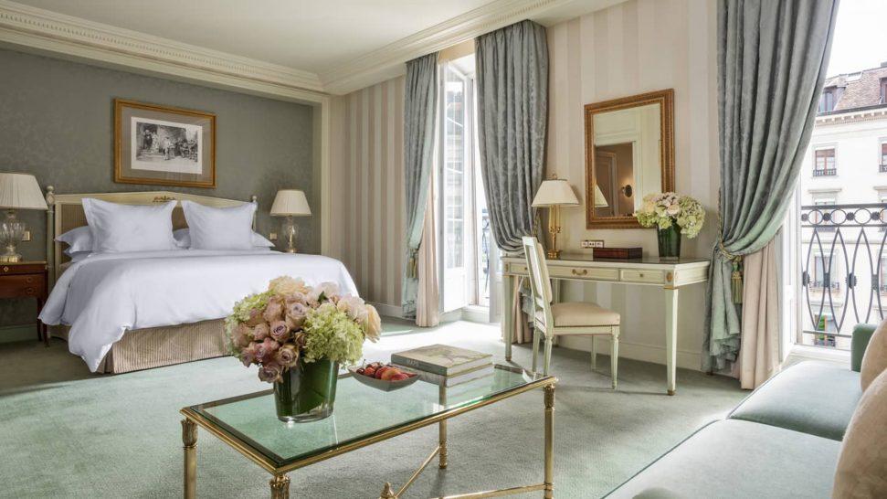 Four Seasons Hotel des Bergues Geneva Four Seasons Junior Suite