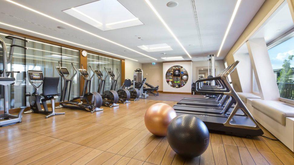 Four Seasons Hotel des Bergues Geneva Gym