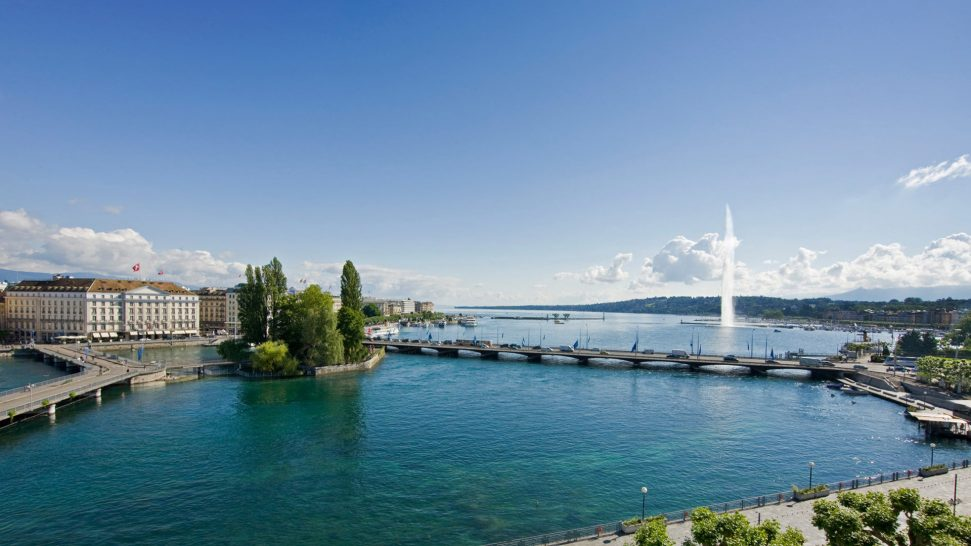 Four Seasons Hotel des Bergues Geneva Hotel View