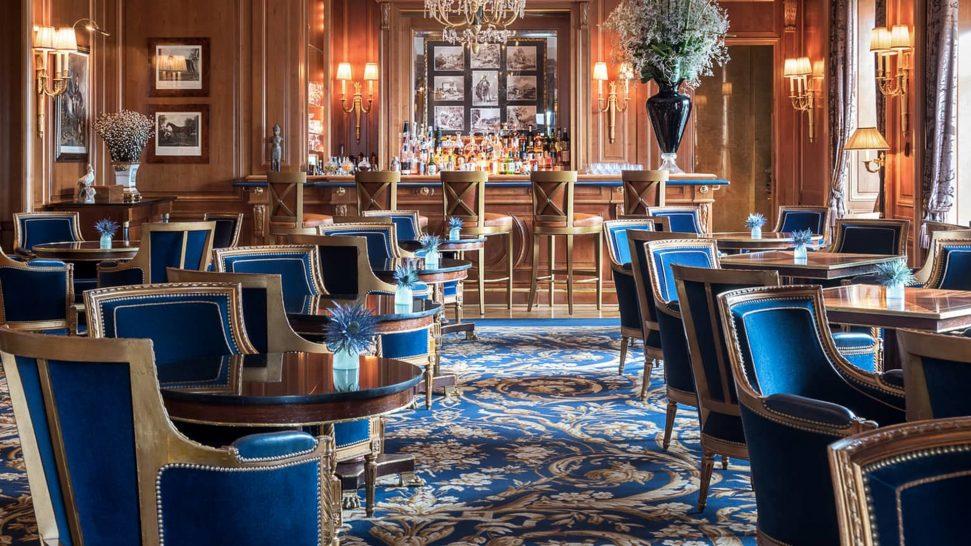 Four Seasons Hotel des Bergues Geneva Le Bar des Bergues