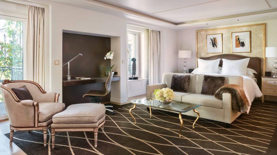 Four Seasons Hotel des Bergues Geneva Loft Suite Garden View