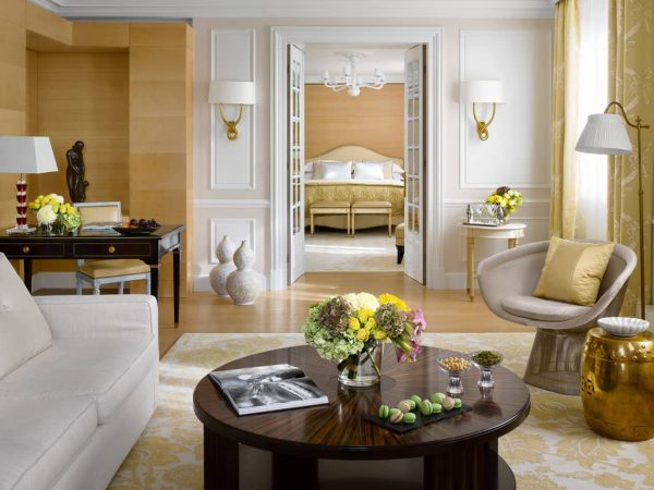 Four Seasons Hotel des Bergues Geneva Presidential Suite Bergues