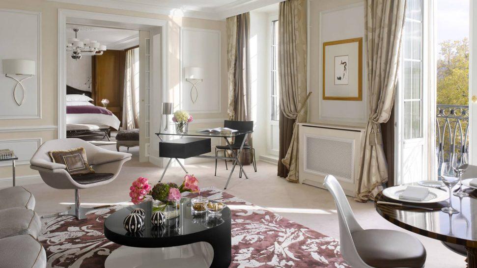 Four Seasons Hotel des Bergues Geneva Presidential Suite Lake View