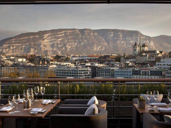 Four Seasons Hotel des Bergues Geneva Terrasse