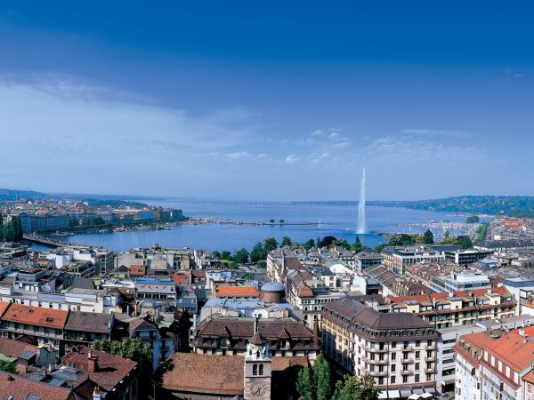 Four Seasons Hotel des Bergues Geneva Top View