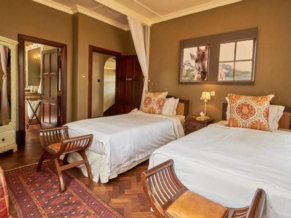 Giraffe Manor Daisy's Room