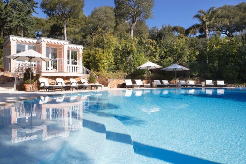 Grand Hotel du Cap Ferrat Villa Rose Pierre Pool