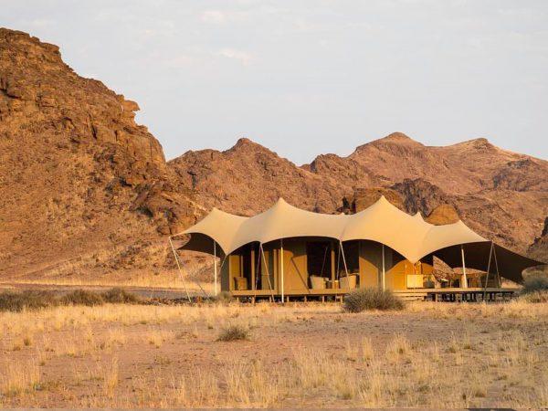 Hoanib Skeleton Coast Camp Tent Exterior