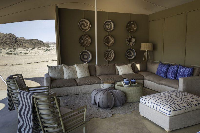 Hoanib Skeleton Coast Tent Interior