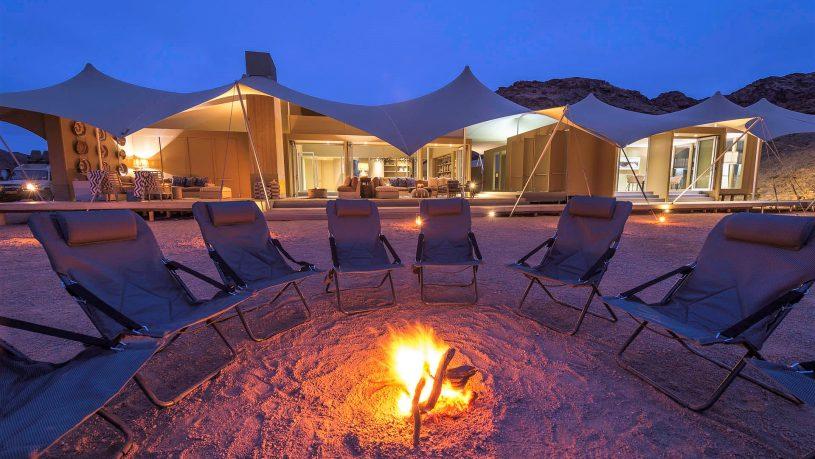 Hoanib Skeleton Coast campfire