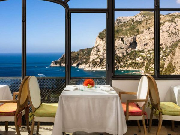 Hotel Punta Tragara Le Monzu Restaurant