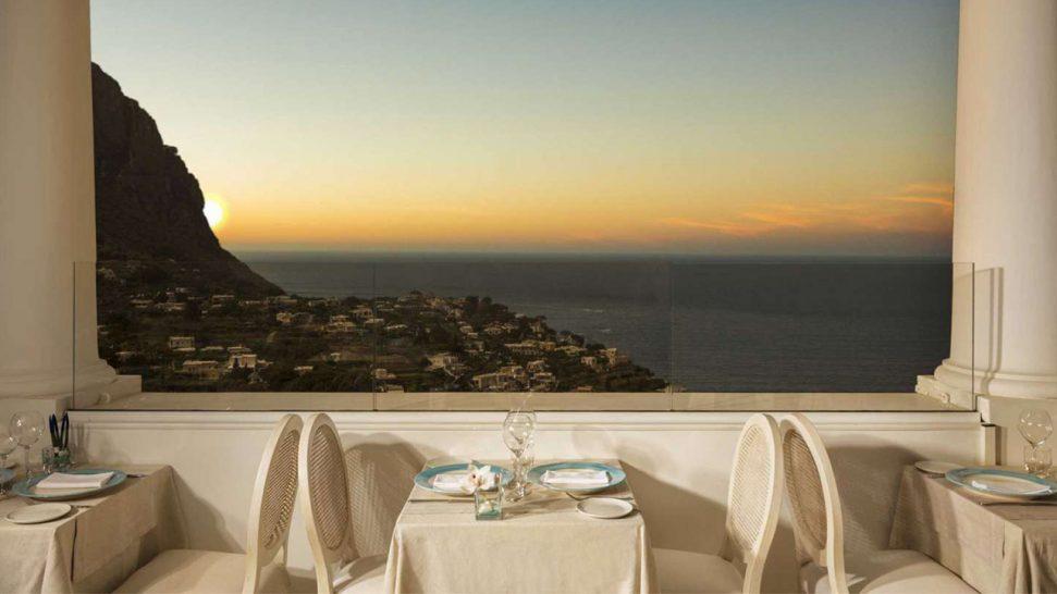 Hotel Punta Tragara Mamma Restaurant