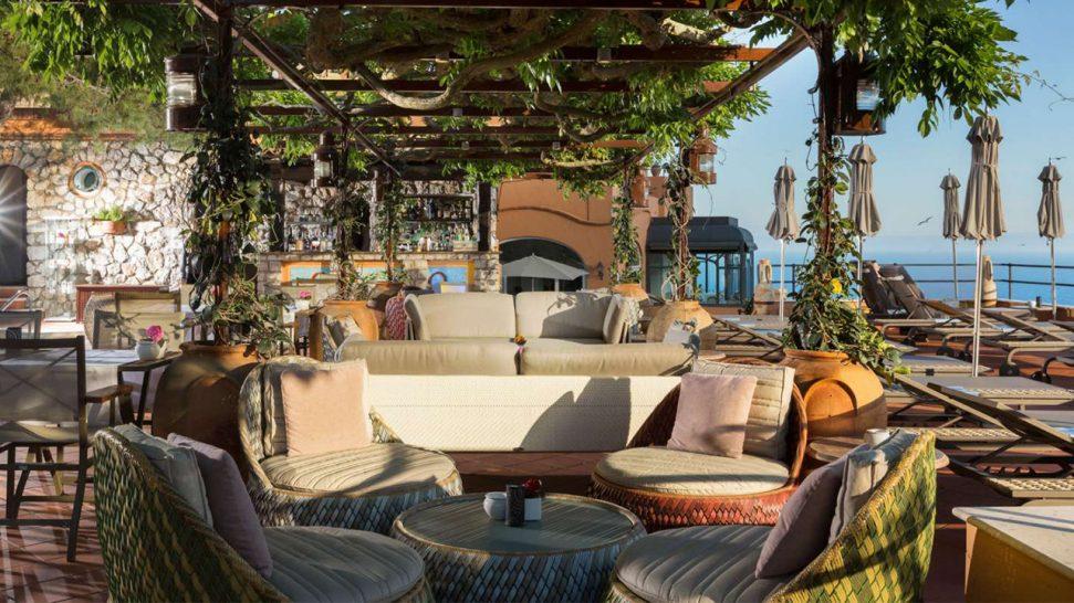 Hotel Punta Tragara Monzu Gin Club and American Bar