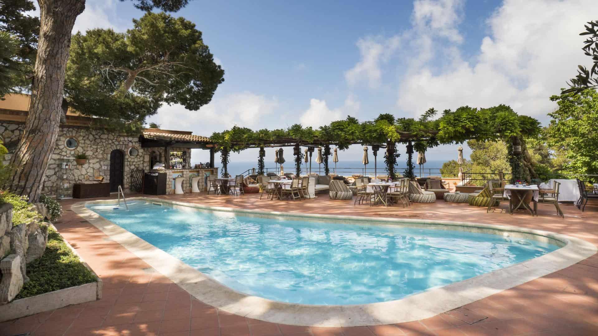 Hotel Punta Tragara Swimming Pool