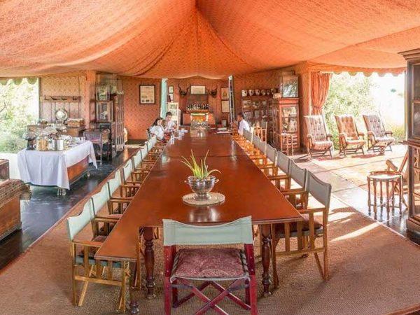 Jack's Camp Dining Room
