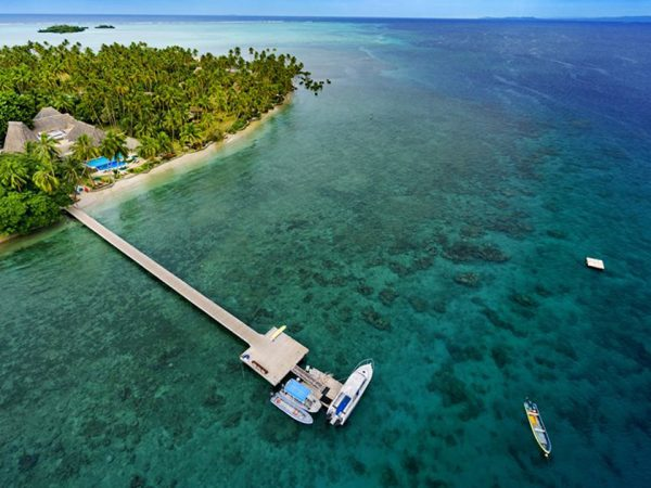 Jean Michel Cousteau Resort Fiji Arrial View