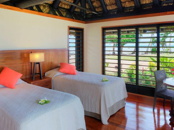 Jean Michel Cousteau Resort Fiji Deluxe Oceanfront 2 Bedroom Bures