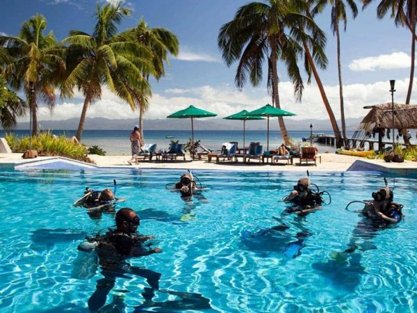 Jean Michel Cousteau Resort Fiji Diving Certification