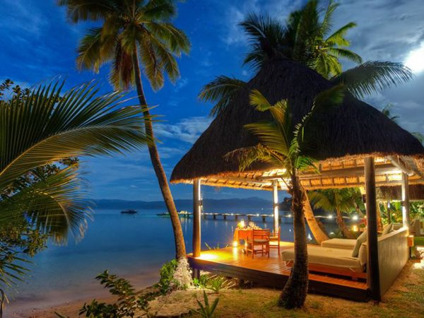 Jean Michel Cousteau Resort Fiji Night View