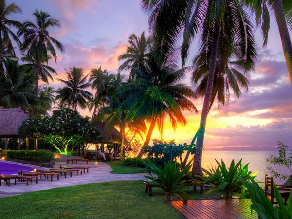 Jean Michel Cousteau Resort Fiji Sunset
