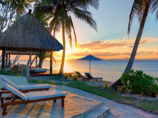 Jean Michel Cousteau Resort Fiji Sunset View