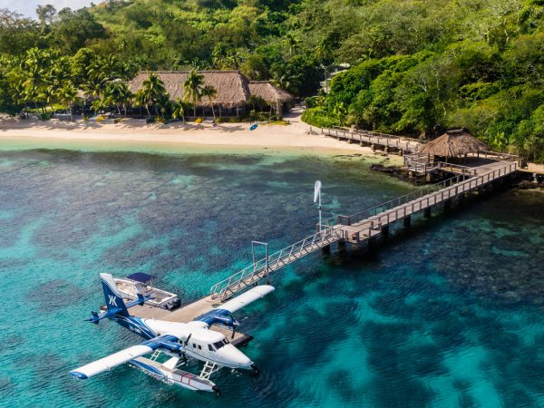 Kokomo Private Island Fiji Seaplane Jetty