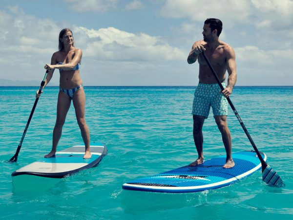 Kokomo Private Island Resort Paddle Boarding