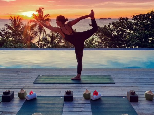 Kokomo Private Island Resort Yoga