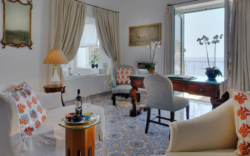 Le Sirenuse Bedroom Suite With Sea View