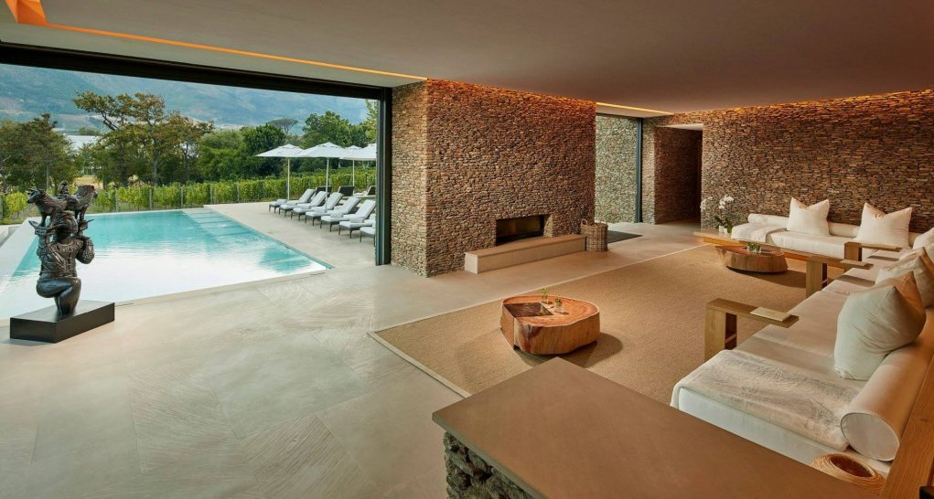 Leeu Estates Franschhoek Spa