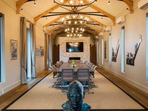 Leeu Estates Indaba Meeting Room