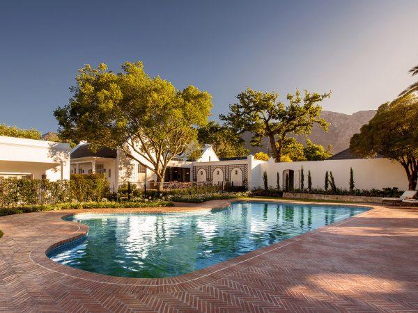 Leeu House Outside Pool