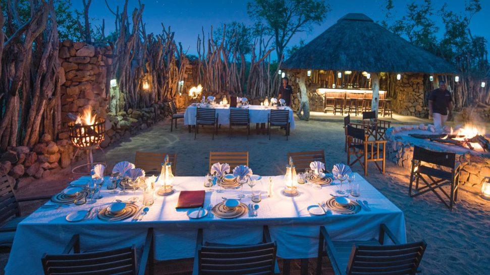 Leopard Hills Boma Dinner