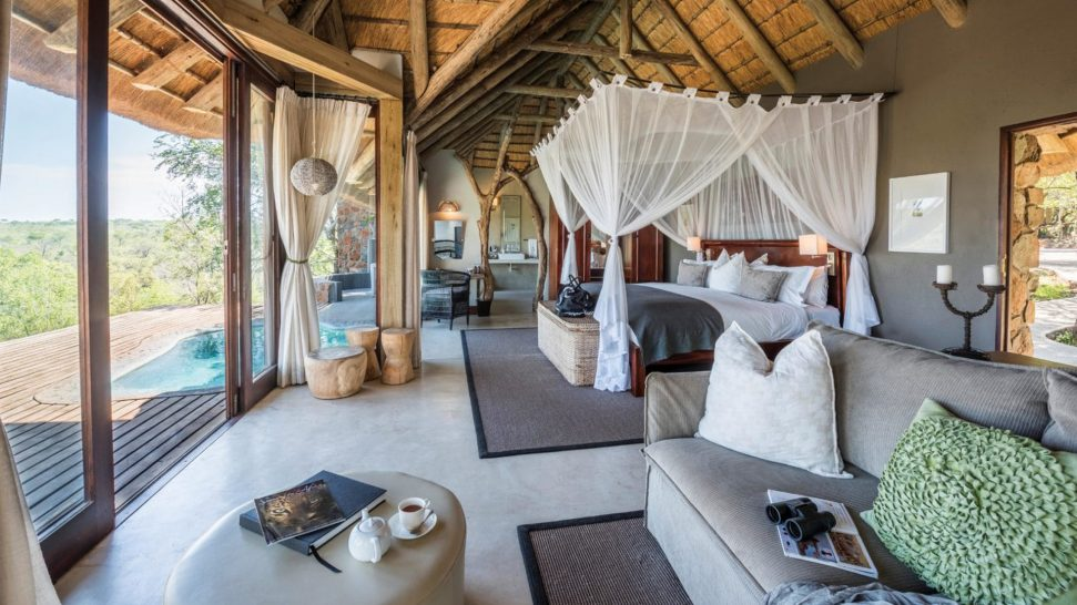 Leopard Hills Luxury Glass Fronted Suite