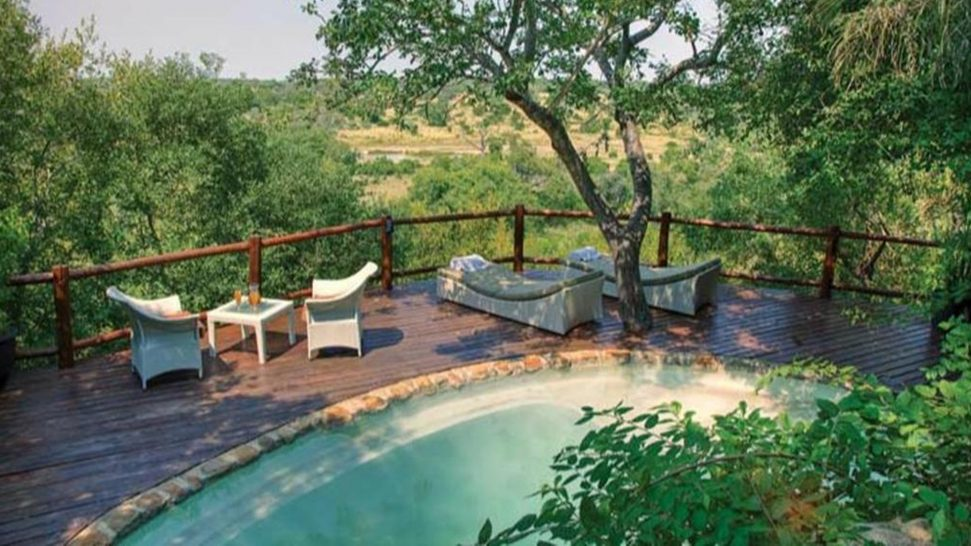 Leopard Hills Outside Pool View