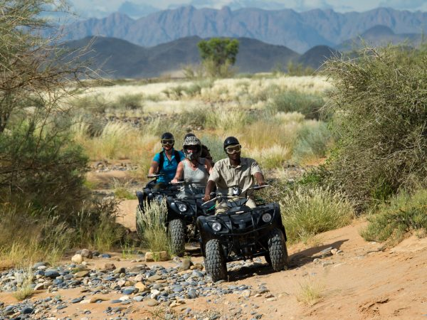 Little Kulala Guided Quad Biking