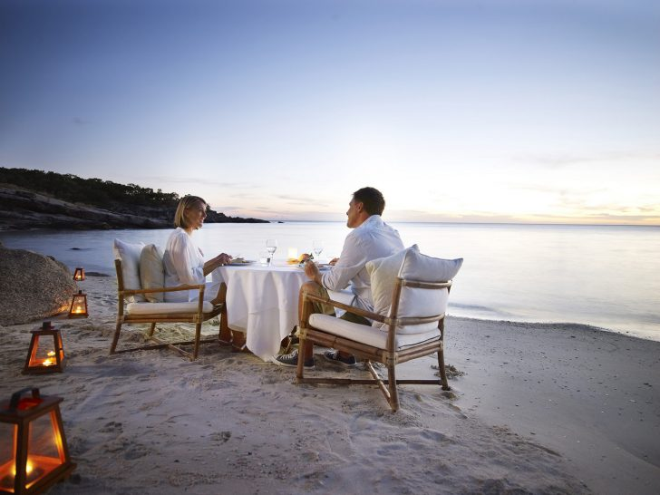 Lizard Island Australia Romantic Beach Dinner