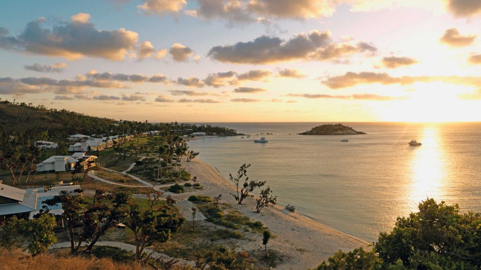 Lizard Island Australia Sunset