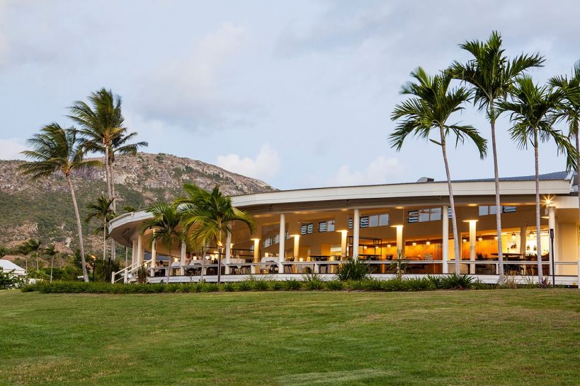 Lizard Island Resort Salt Water Restaurant