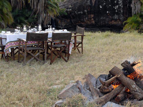 Loisaba Star Beds Bush Meals