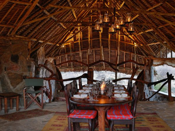 Loisaba Star Beds Dining