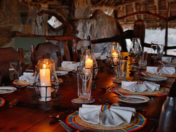 Loisaba Star Beds Dining Dack