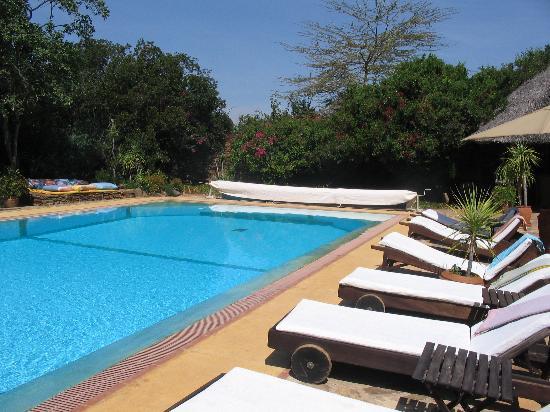 Loisaba Star Beds Pool Area
