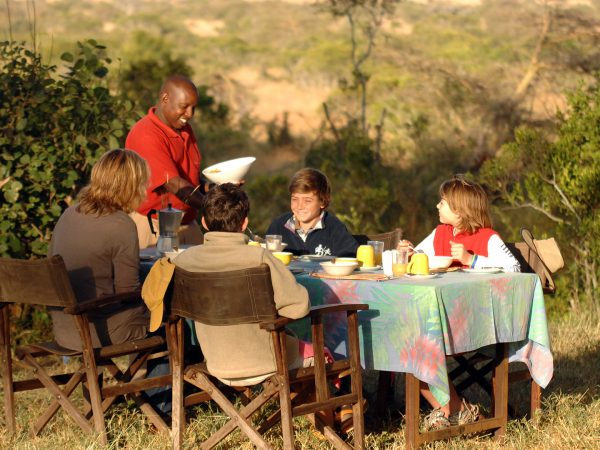 Loisaba Tented Camp Bush Meals