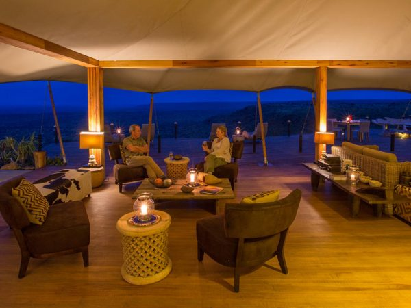 Loisaba Tented Camp Dining