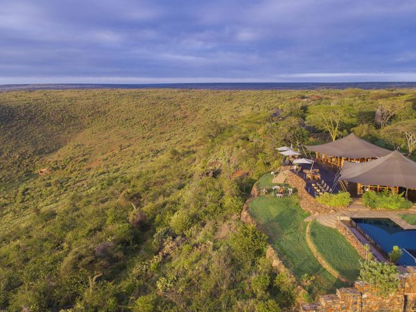 Loisaba Tented Camp Exterior View