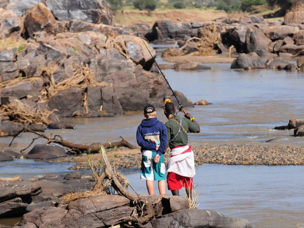 Loisaba Tented Camp Fishing